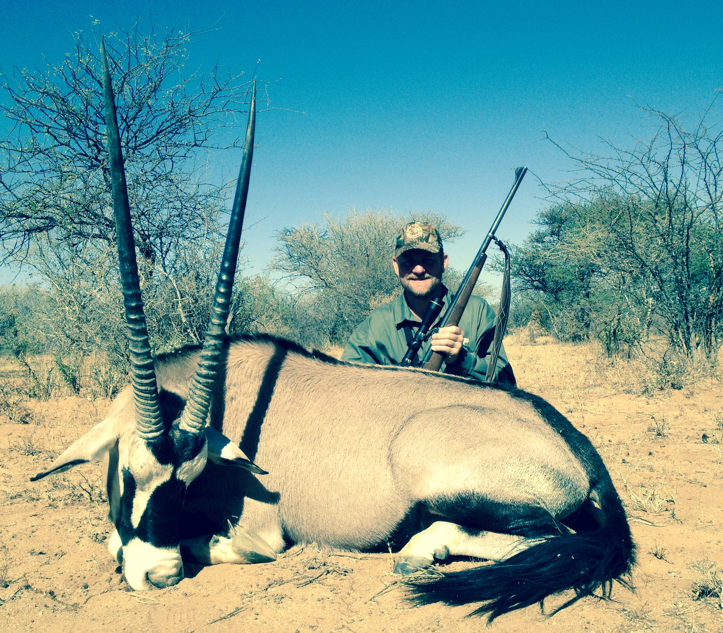 Jim Mraz Gemsbok or Oryx