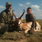 Jim and Scott Mraz New Mexico Antelope with Provensio Outfitters